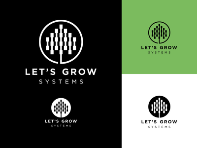 Let's Grow Systems - Logo Showcase
