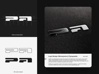 PA Monogram / Brief Logo Design Process