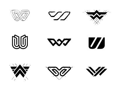 W-sketches typography symbol designer branding identity identity designer brandmark mark logo designer logo design logo