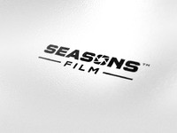 Seasons film on white