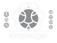 Logo Design Construction for SimpleTiger