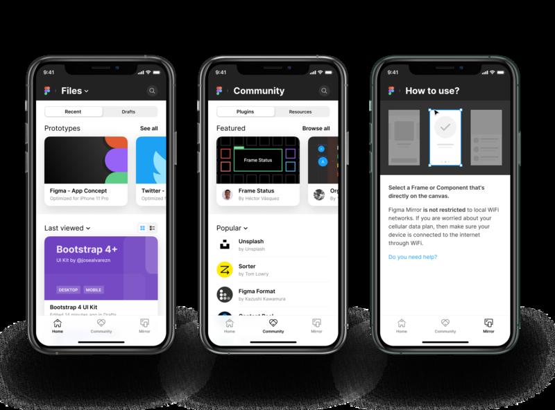 Figma App - Concept mockup apple iphone x iphone ios figmadesign figma concept app design app