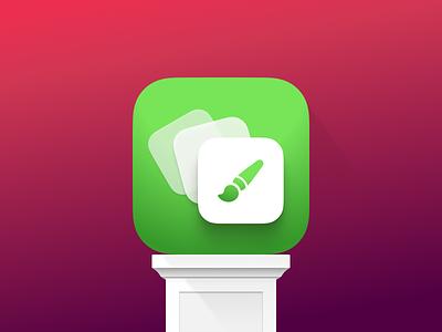 Widgy App Icon figmadesign figma widgy ios icon design iconography appstore apple icon app