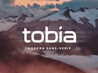 Tobia | Modern Sans-Serif Typeface