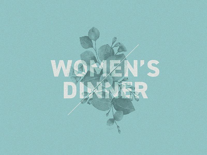 Women's Dinner ohio columbus din halftone eucalyptus slide church dinner womens