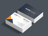Arctic Express Business Cards
