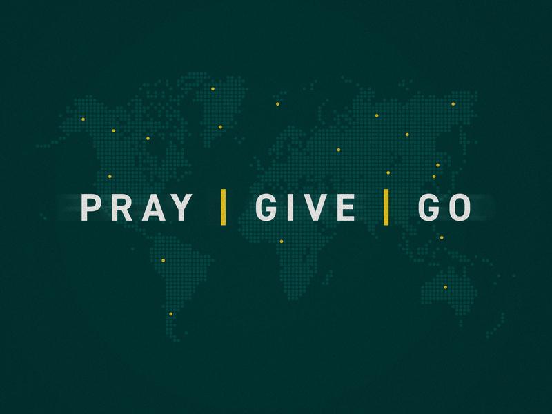 Pray, Give, Go – Sermon Series north carolina raleigh ohio columbus artwork series sermon go give pray