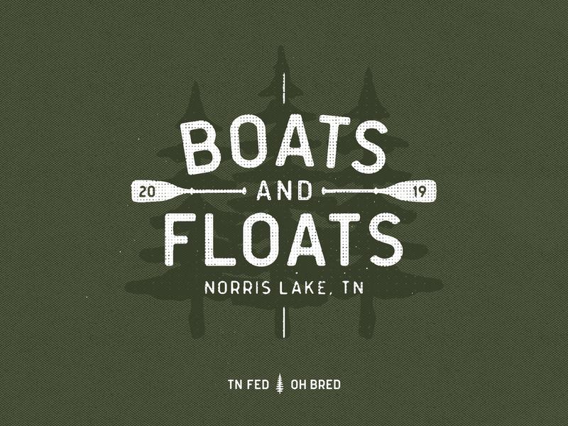 Boats 'n Floats reunion ohio columbus tn tennessee trees tee vacation oar floats boats shirt tshirt