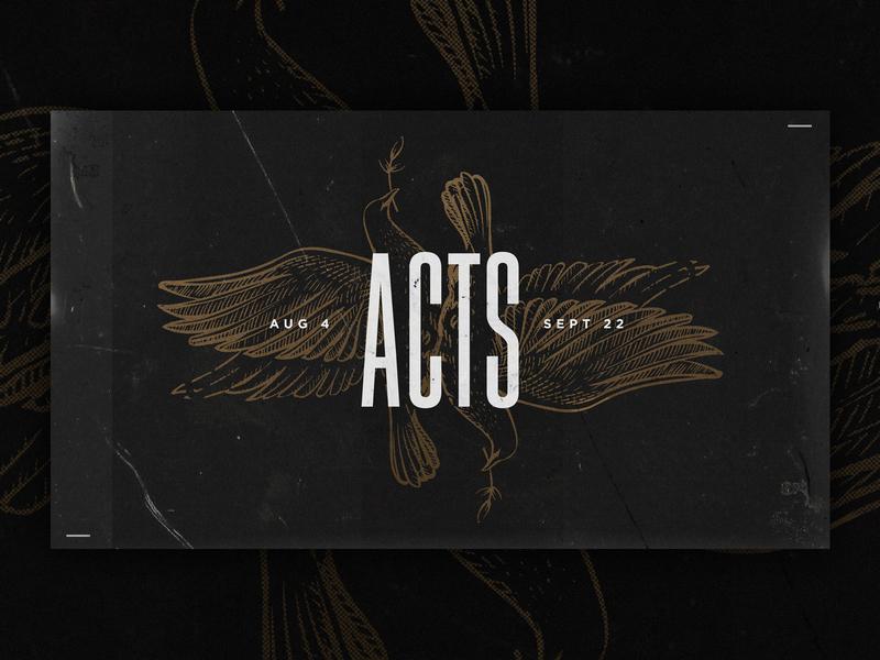 Acts - Sermon Series creative crimson c3 church sermon series church ohio columbus
