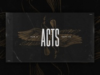 Acts - Sermon Series