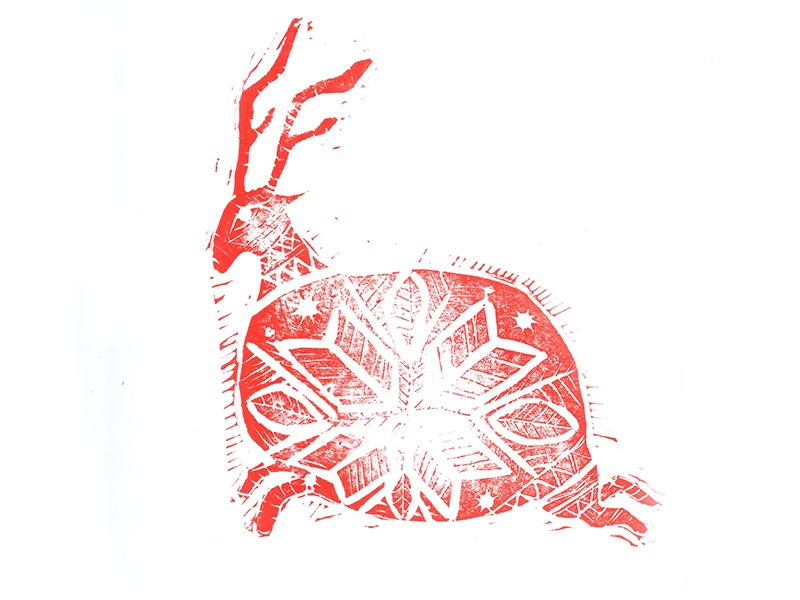 Bock 5 christmas card