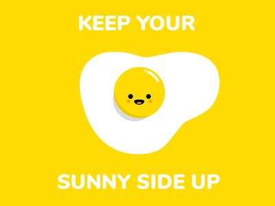 Hello Dribbble! yellow egg sunny debut