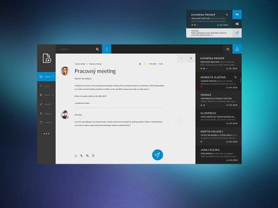 Multiple email client compose calendar tasks inbox allert notifcation multiple client email