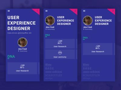 UX Portfolio Intro v1, v2 or v3?
