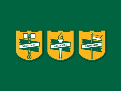 West Florence Badges
