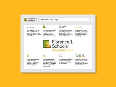 Florence 1 Schools Guidelines