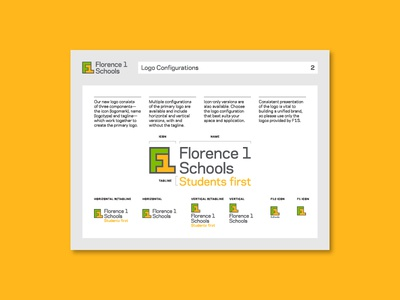 Florence 1 Schools Guidelines 2