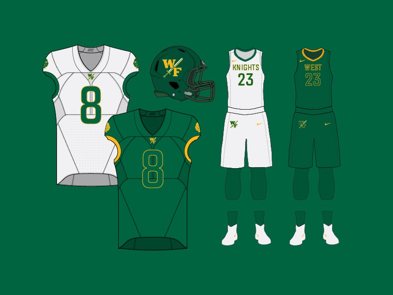West florence uniforms