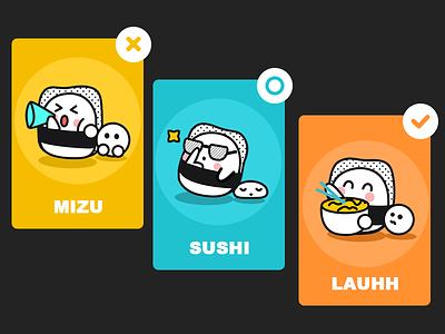 Japanese cuisine mascot cute app cuisine japanese