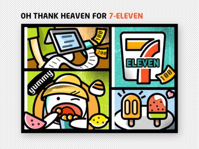 Snacks in 7-ELEVEN