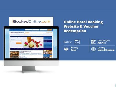 Online Hotel Booking Website Voucher Redemption online shop online shopping online marketing development branding enterprise technology business web design