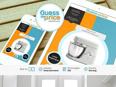 Guess The Price app business enterprise technology design