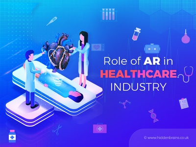 Role of AR in Healthcare Industry app development app diagnosis mobile app business technology tech medical health vr ar