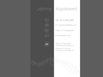 Science Business Card