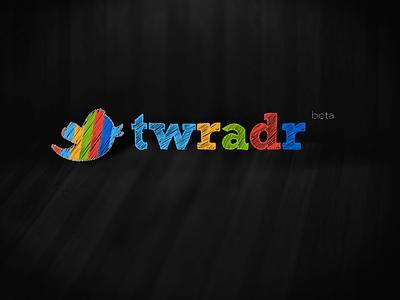 Twrader  twitter colors logo