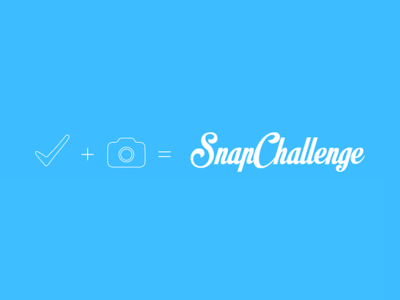 SnapChallenge Logo showcase logo ios snapchallenge