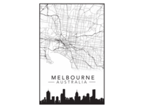 Melbourne City Poster