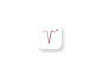 Icon Redesign S3X - Tesla Community App tesla showcase redesign mobile ios icon app android