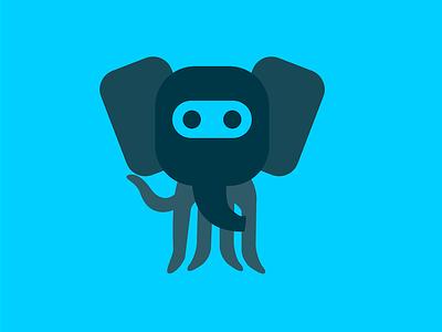 Octophant v2 showcase github octocat octoelephant