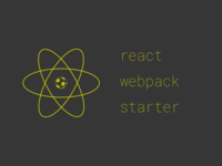 react webpack starter logo