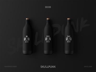Skullpunk Beer Identity Design