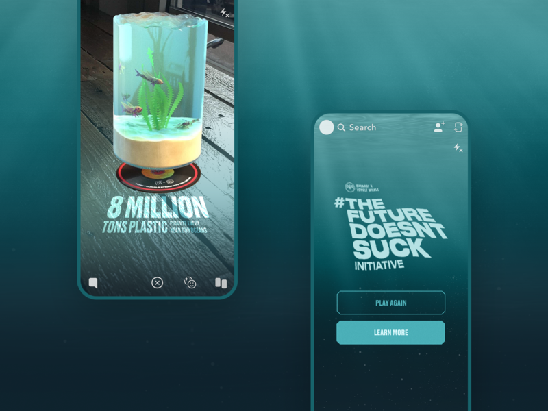 Bacardi Snapchat AR — The Future Doesn't Suck