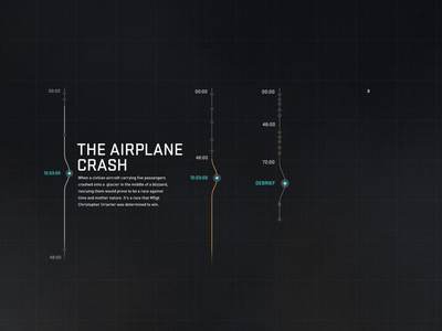 U.S. Air Force — Into The Storm animation experience website web ui webdesign interface design