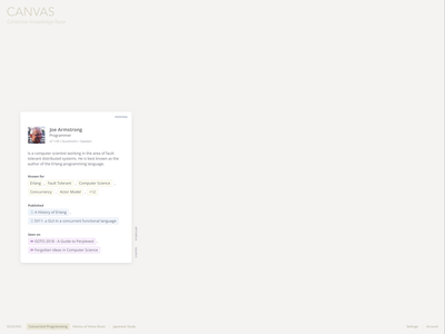 Knowledge Base (UX Concept) desktop exploration information knowledgebase concept design ux