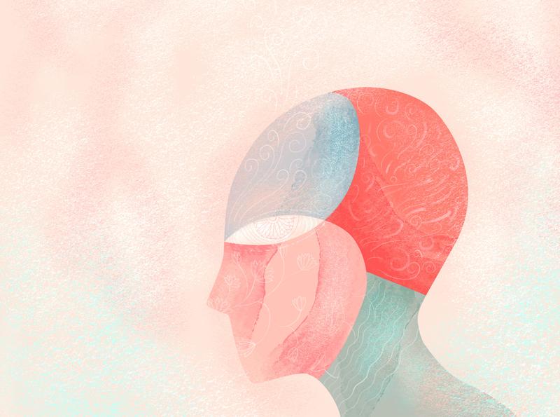 Creative mind - final illustration