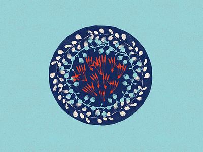 Mal Vimāna - Flower Vimāna drawing abstract illustration concept