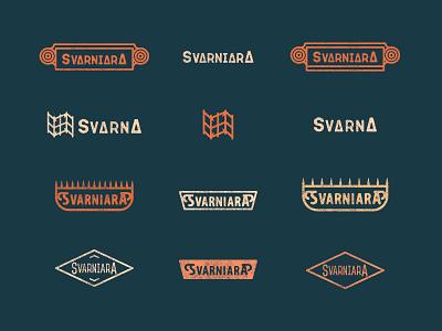 SVARNIARA - mood board symbol simpe geometric logo