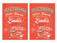 Zindi's Pizza Box Illustration