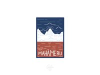 Mahameru Illustration - final version