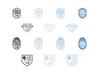 918 VB - logo mood board