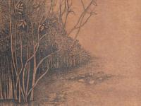 INKTOBER - 'Beddagana Wetland Park' - final illustration