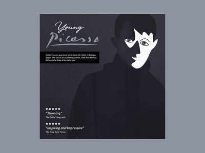 Young Picasso - final cd cover