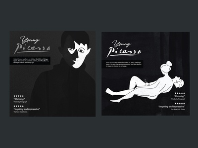 Young Picasso - final cd cover artworks