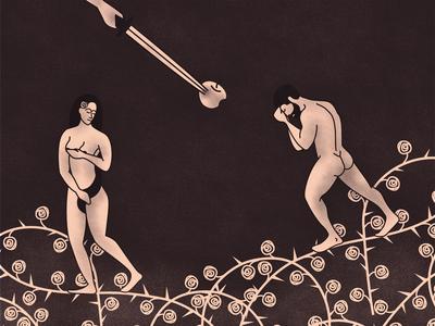 Editorial Illustration - Punishment