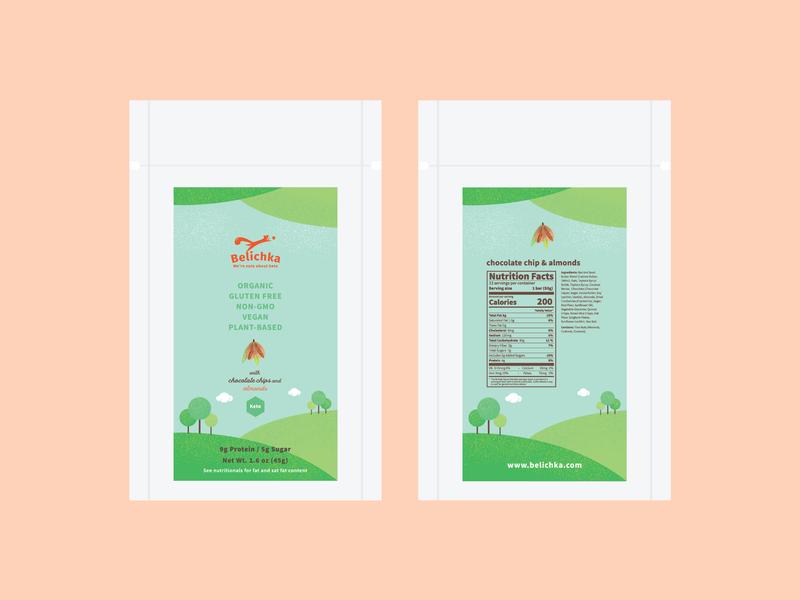 Belichka package two energy bar branding package illustration packagedesign illustration concept
