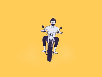 Ride - Editorial Illustration
